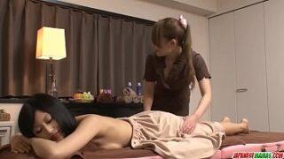 Hot japan chick Aoi Miyama rubdown and fuck